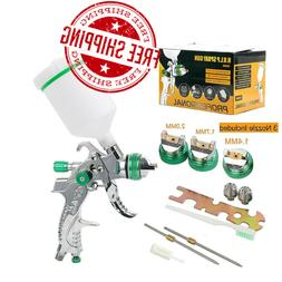 1.4/1.7/2.0mm Nozzle Mini Air Paint HVLP Spray Gun Mini Air
