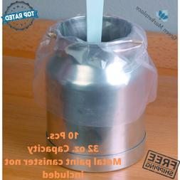 Central Pneumatic Disposable HVLP Spray Gun Liners Clear For