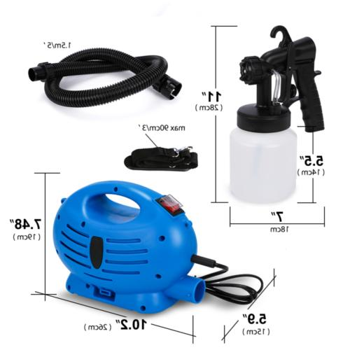 650W Electric Sprayer Spray For Fence Furniture Paint US