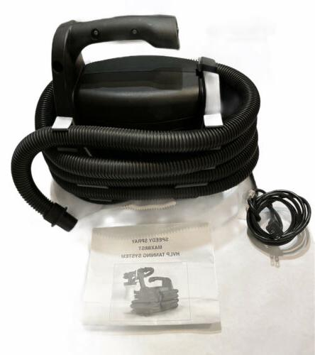sunless spray tan hvlp unit with hose