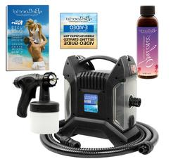 pro model turbine spray tanning machine w